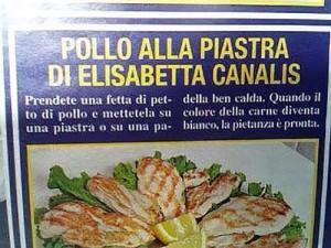ricetta canalis